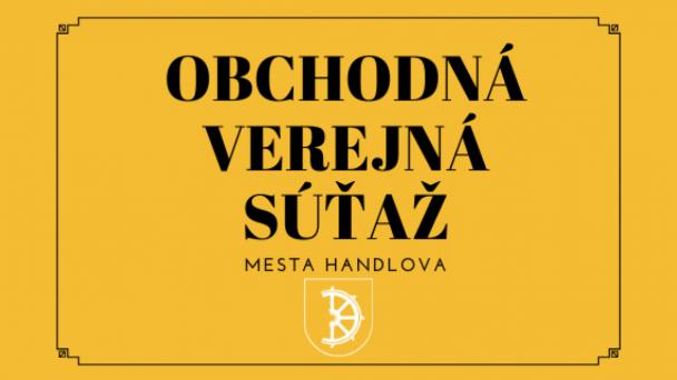 Obchodná verejná súťaž - Dom kultúry Nová Lehota