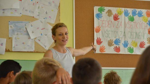 Spolupráca s Teach for Slovakia pokračuje