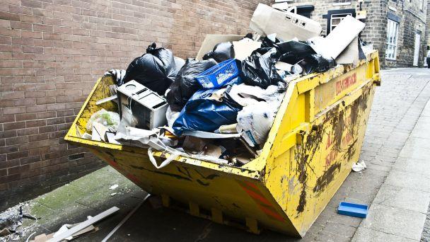 Prvý zber veľkoobjemového odpadu v tomto roku